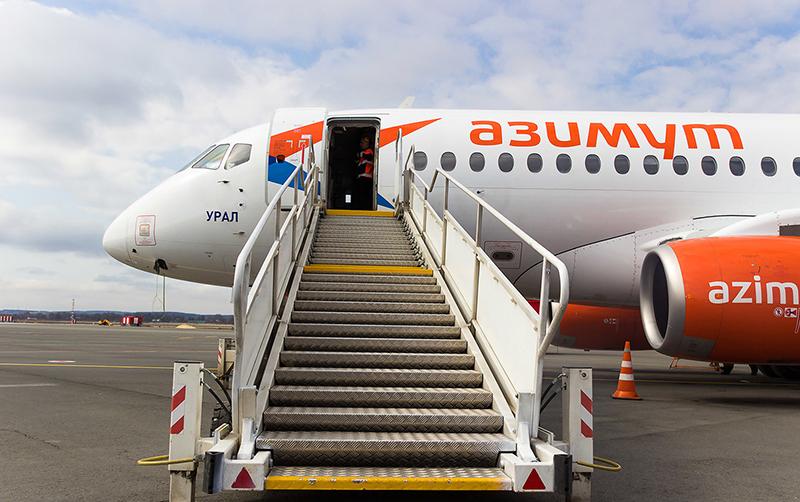 Авиакомпания «Азимут» открывает рейсы между Сочи и Ереваном