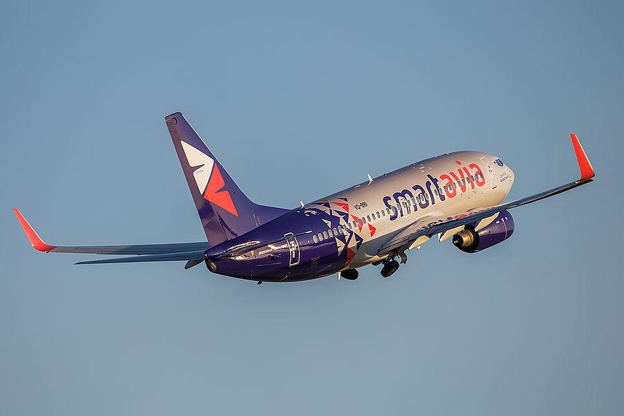 Smartavia начнет выполнять полеты из Волгограда в Сочи с 22 августа